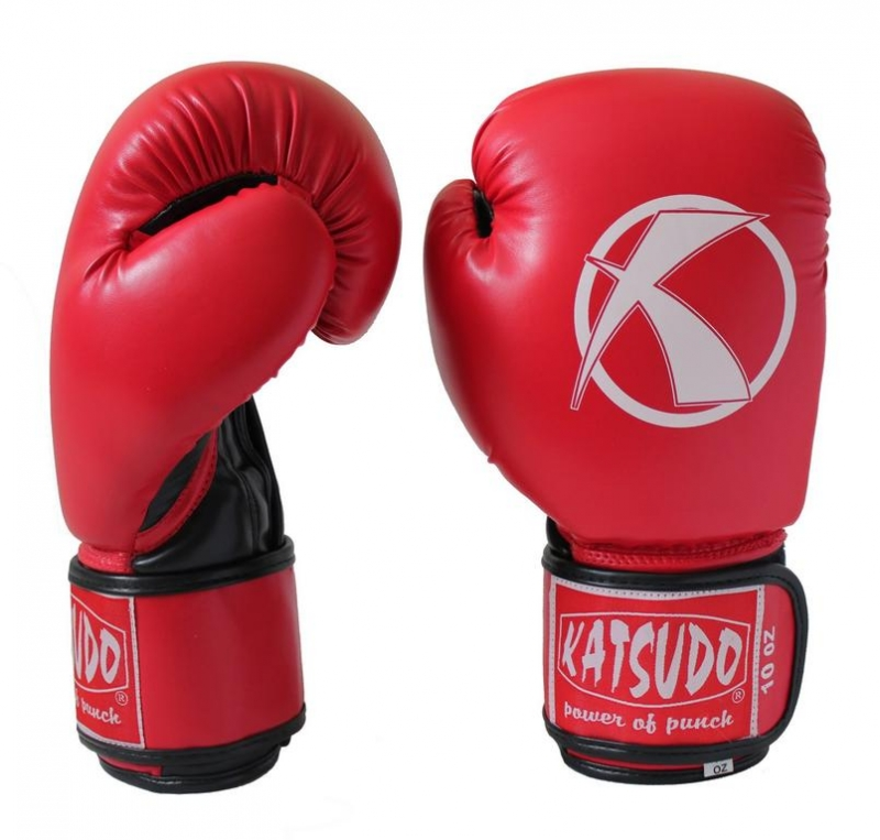 Boxovacie rukavice Katsudo Punch červené