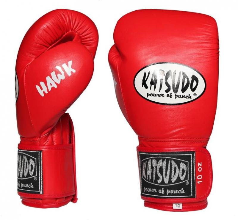 Boxovacie rukavice Katsudo HAWK červené
