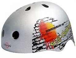 Prilba Fire Skate Spartan nastavitelná