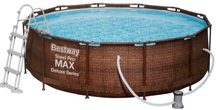 Bestway Steel Pro Max Rattan 366 x 100 cm 56709 Doprava ZADARMO