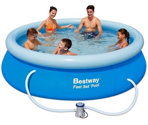 Bazén BESTWAY Fast Set 305 x 76 cm s filtráciou 57270