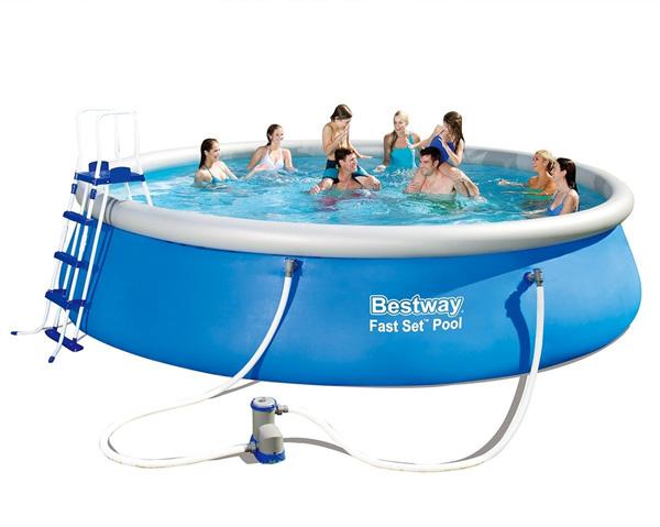 Bazén BESTWAY Fast Set 457 x 122 cm 57289