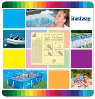 Bestway 62091 Samolepiace Záplaty Podvodné