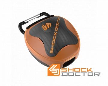 Shock Doctor antibakteriálna krabička na chraniče zubov - oranžová