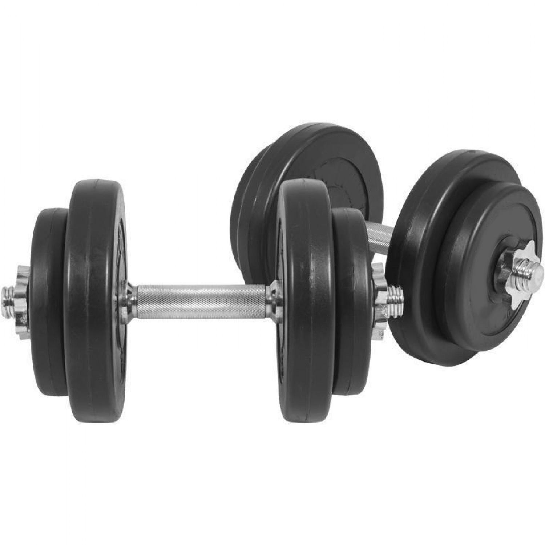 Jednoručný činkový set Spartan 2 x 10 kg