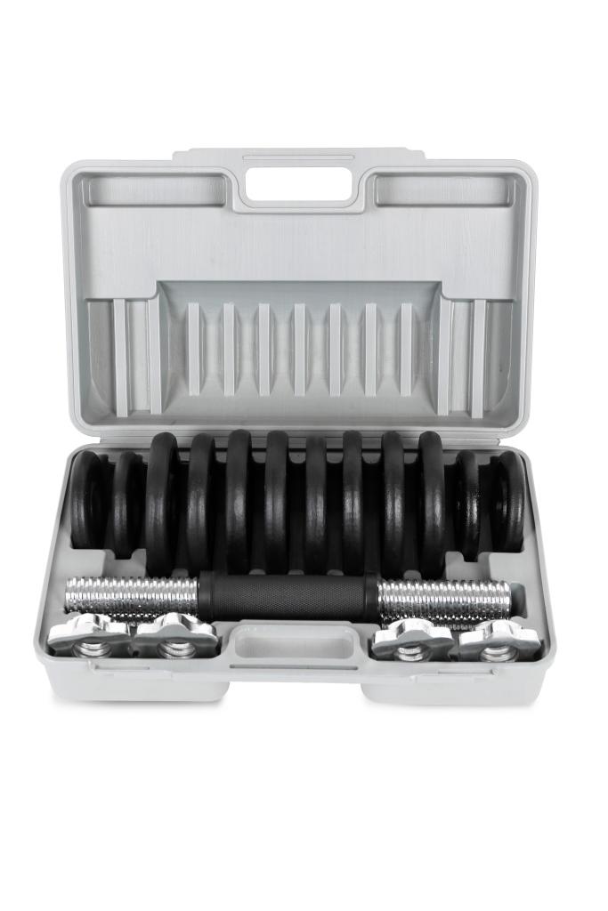 Činkový set Laubr v kufríku 15kg